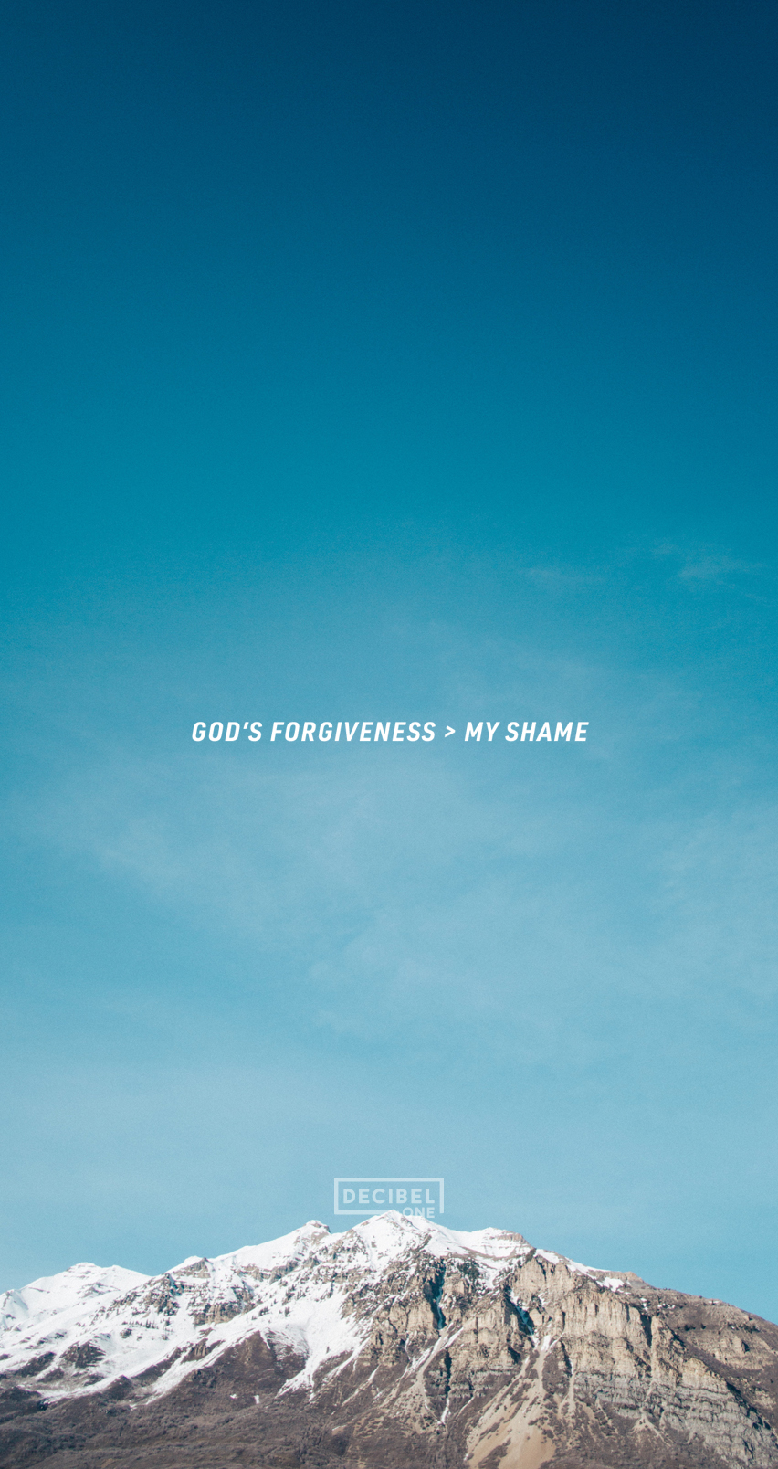 GOD'S FORGIVENESS > MY SHAME