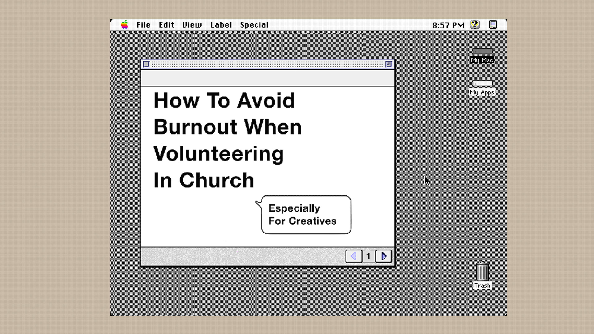 How to avoid burnout when volunteering in church (especially for creatives)