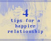 4 tips for a happier relationship